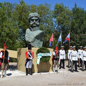 La E.A.M participó del Homenaje al Brigadier General Juan Facundo Quiroga