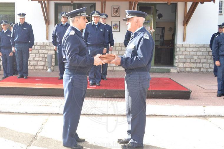Cambio de Jefe del Aeródromo Militar Escuela