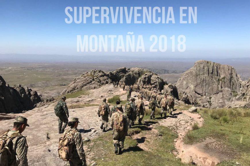 Supervivencia en Montaña 2018
