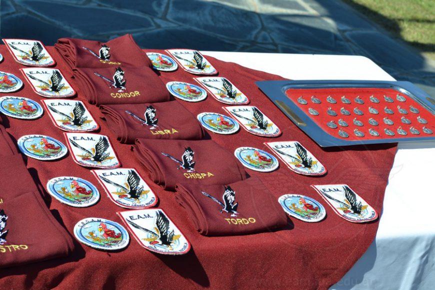 Ceremonia del Primer Vuelo Solo CBCAM C-12/08 en la Escuela de Aviación Militar
