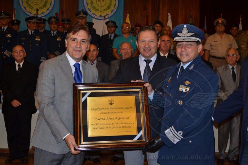 Ceremonia Conjunta por el Día del Veterano y de los Caídos en la Guerra de Malvinas