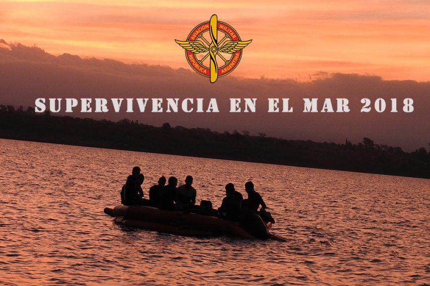 Ejercicio Operativo Supervivencia en el Mar 2018