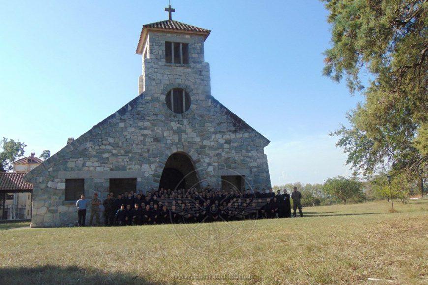 Cadetes de I Año de la Escuela de Aviación Militar realizaron la Acampada Anual
