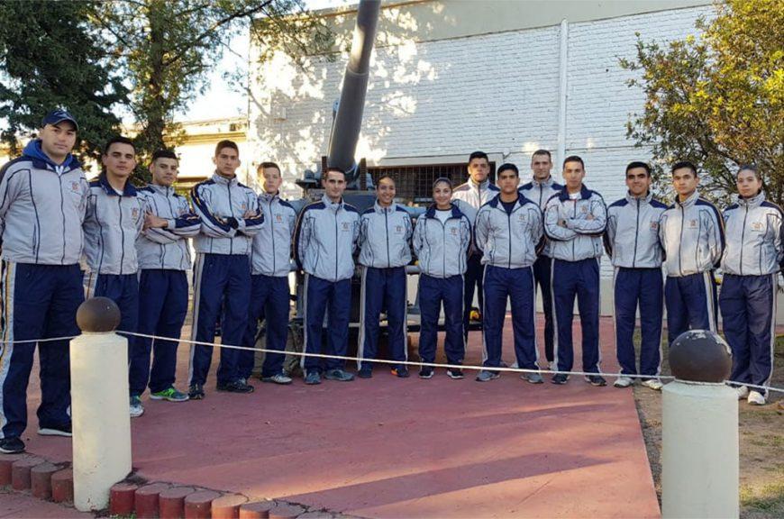 La Escuela de Aviación Militar participó en el Torneo de Tiro 25 de Mayo