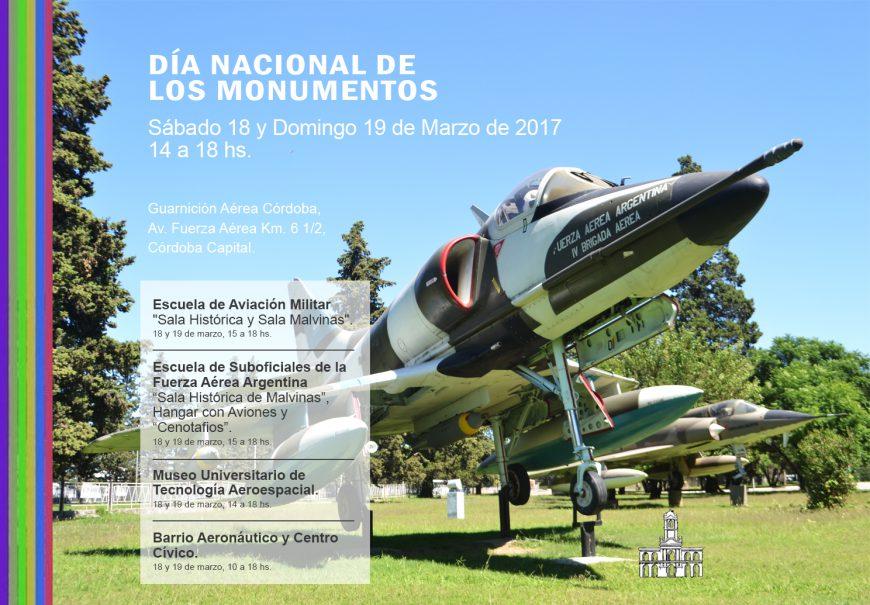 Día Nacional de los Monumentos en la Guarnición Aérea Córdoba