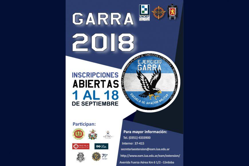 Inscripción Ejercicio Garra 2018