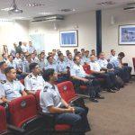 Conferencia en la Academia de la Fuerza Aérea de Brasil