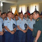 """Cadetes en la Academia Militar """"Mariscal Francisco Solano López"""