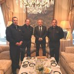 Visita al Embajador argentino en Uruguay