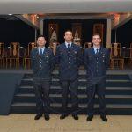 Oficiales egresados del COSANT 3