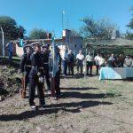 Homenaje a los Veteranos y Héroes Caídos en Malvinas en Villa Los Aromos