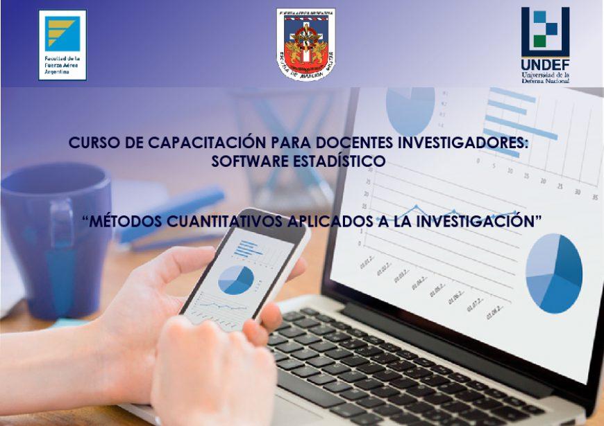 """Curso de Estadísticas: """"MÉTODOS CUANTITATIVOS APLICADOS A LA INVESTIGACIÓN"""""""
