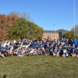"""Emoción, honor e inclusión primaron en el """"Encuentro de Rugby y Camaradería"""""""