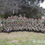 acampada de cadetes