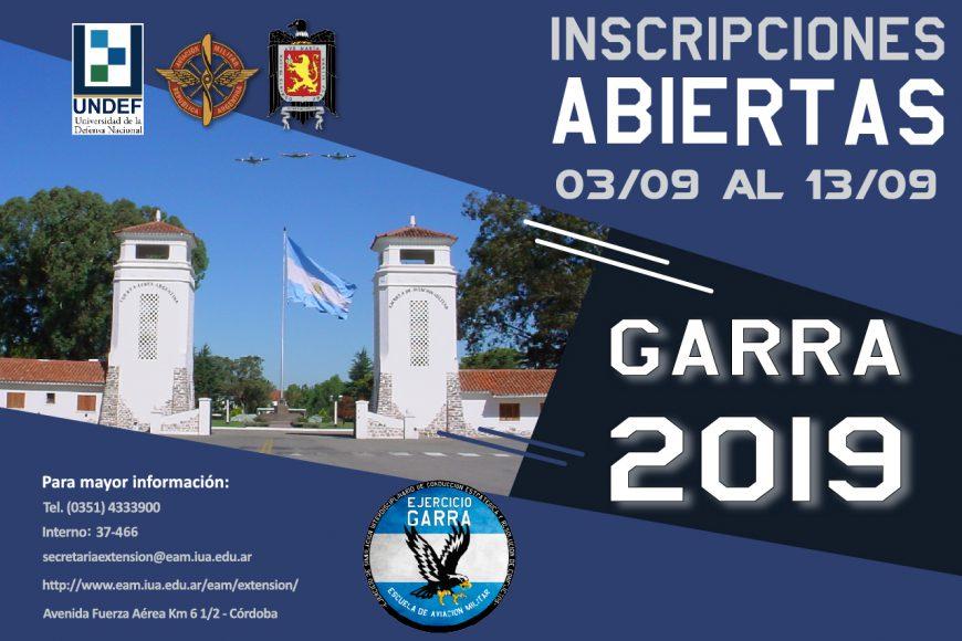 Ejercicio GARRA 2019