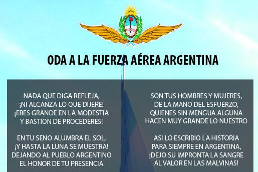 ODA A LA FUERZA AÉREA ARGENTINA