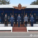 Palco de Autoridades - Aniversario del Cuerpo de Cadetes