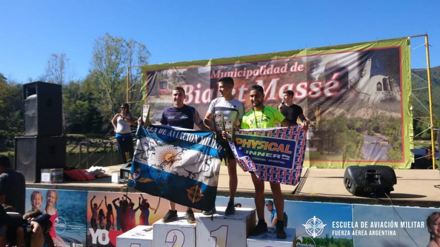 Cadetes de la Escuela de Aviación Militar hicieron podio en el Trail Running Championship Córdoba 2019