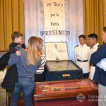 """Sala de Honor"" en el Cuerpo de Cadetes de la E.A.M."