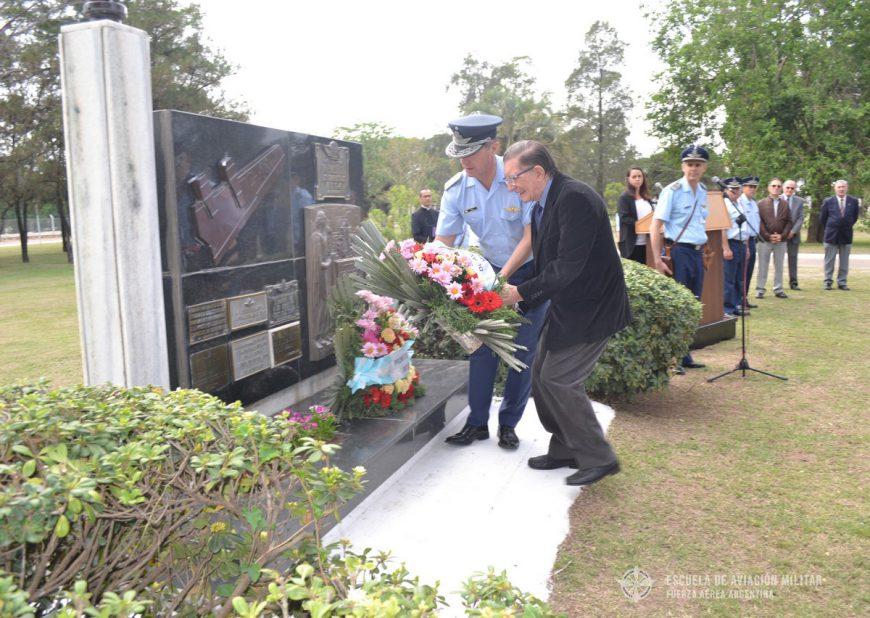 Ceremonia por el 54º aniversario de la desaparición del TC-48