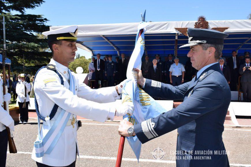 Cambio de Abanderado y Escoltas de la Escuela de Aviación Militar
