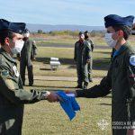 Entrega de diploma a Oficial cursante del CEPAC 2020