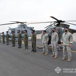 Formación Recepción Bell 412