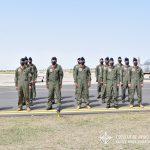 Oficiales cursantes del G.A.E.