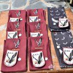 Escudos, pañuelos y distintivos del Grupo Aéreo Escuela.