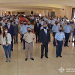 Autoridades en ceremonia Egreso CBCAM