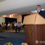 Discurso del Ministro de Defensa ROSSI.