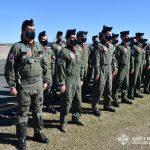Oficiales del Escuadrón Texan